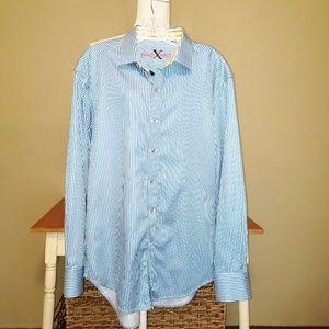 Robert Graham   Striped Long Sleeve Shirt